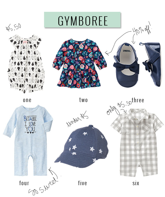 Gymboree Labor Day Sale | The Best of Labor Day Discounts and Codes | Momma Society-The Community of Modern Moms | www.MommaSociety.com | Join our party on instagram @mommasociety