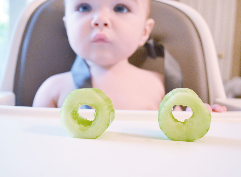 Cucumber Teething Rings | Momma Society - The Community of Modern Moms | www.MommaSociety.com | Join our party on Instagram @mommasociety