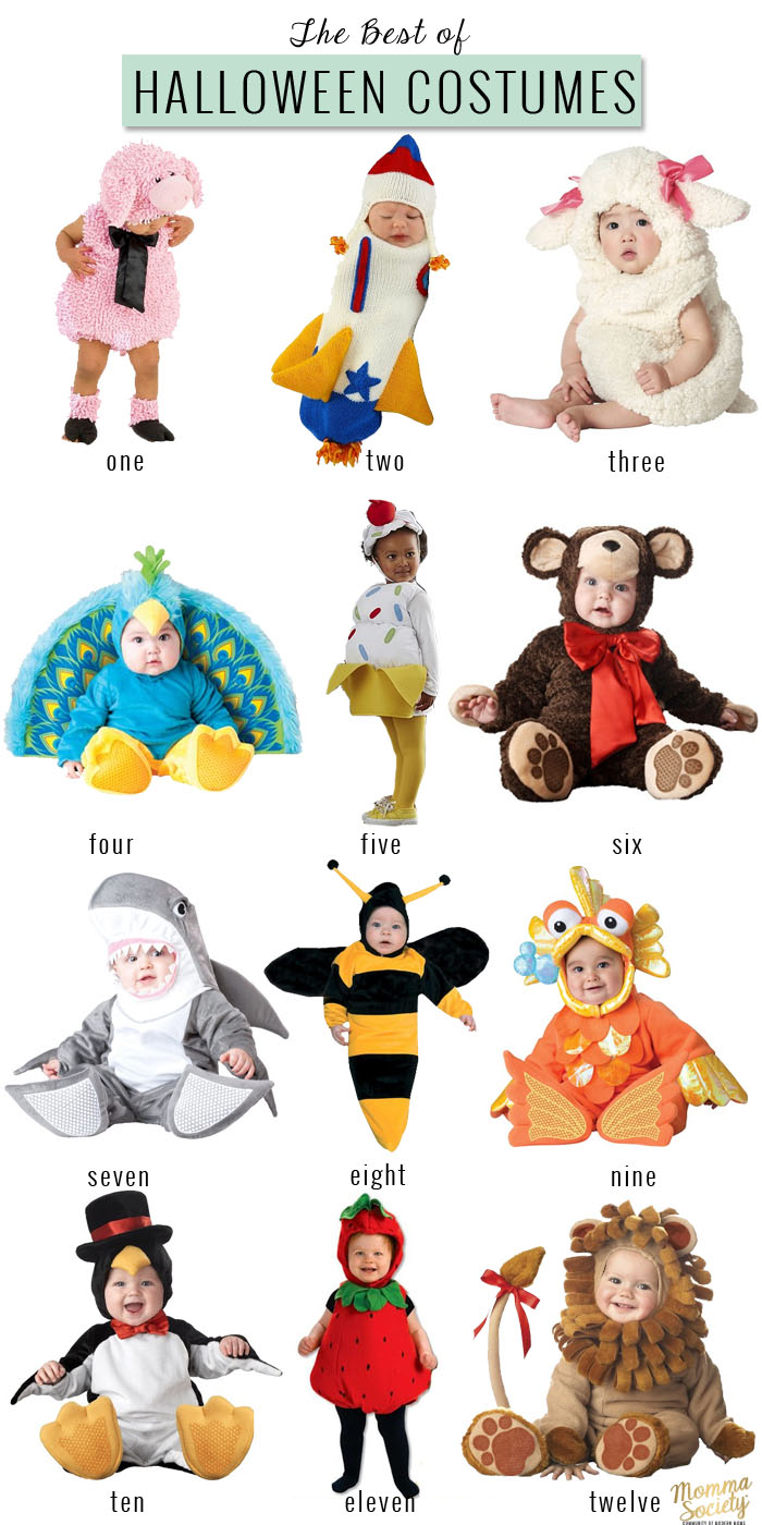 The Best Halloween Costumes for Babies | Momma Society-The Community of Modern Moms | www.MommaSociety.com | Join our conversations on Instagram @MommaSociety