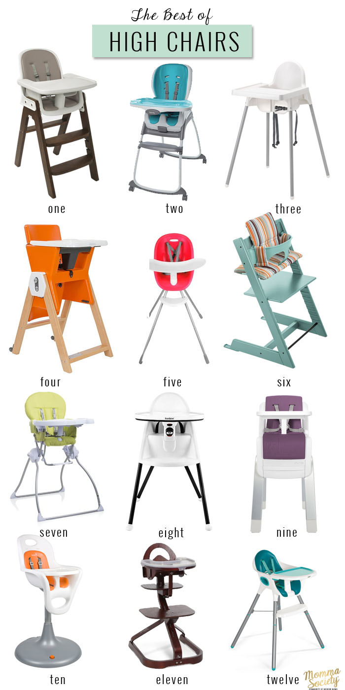 The Best Of High Chairs Momma Society