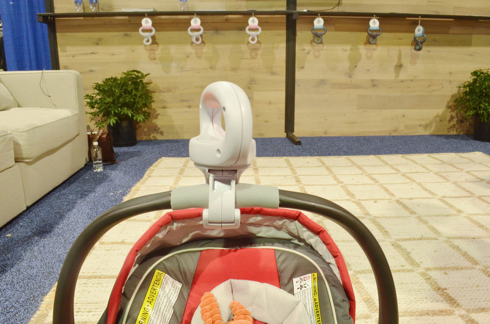 Best Innovation for New Parents-LugBug Car seat Handle | ABC 2015 Kids Expo Awards from Momma Society | www.MommaSociety.com | The Community of Modern Moms | Join our party on Instagram @mommasociety