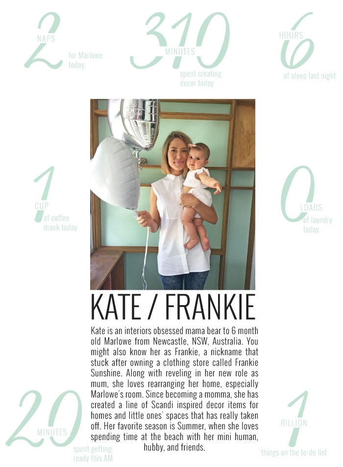 A Day In The Life with Kate of Luxe Baby | Momma Society-The community of Modern Moms | www.MommaSociety.com | Join our party on instagram @mommasociety