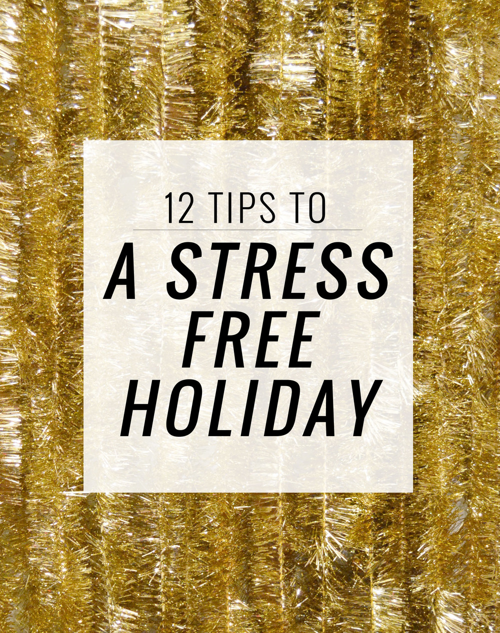 12 Simple Tips To A Stress Free Holiday For the Busy Mom | Momma Society-The Community of Modern Moms | www.MommaSociety.com