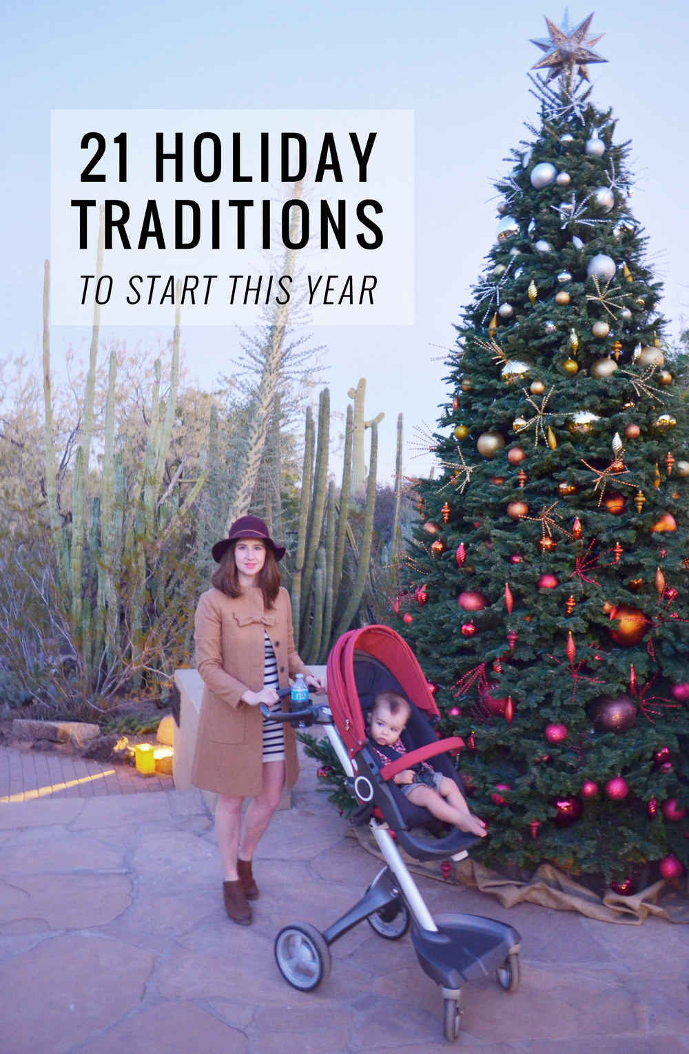 21 Christmas & Holiday Tradition Ideas to Start With Your Family | Momma Society-The Community of Modern Moms | www.MommaSociety.com