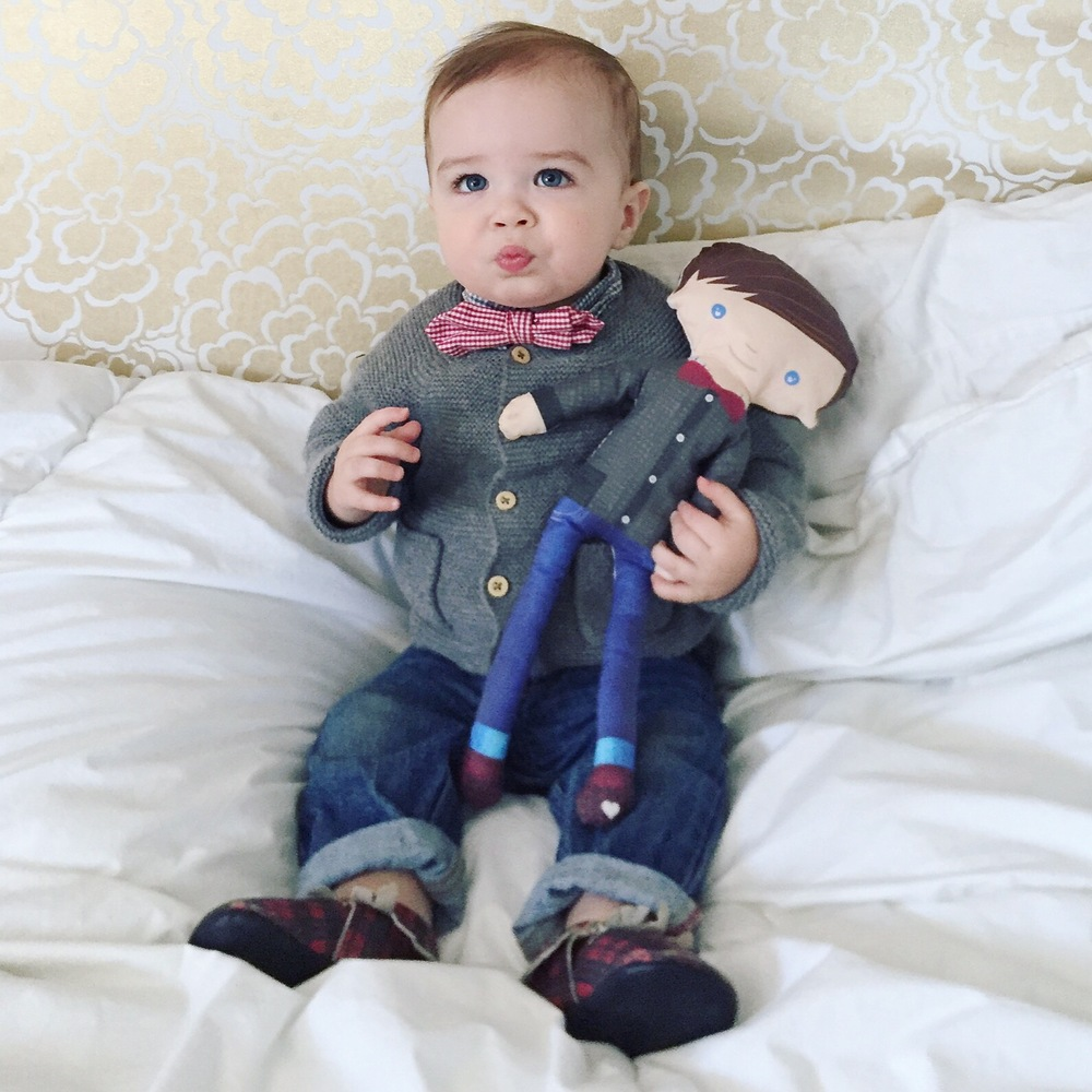 Personalized Handmade Baby Dolls from Etsy | #mrbrodyparker | Momma Society-The Community of Modern Moms