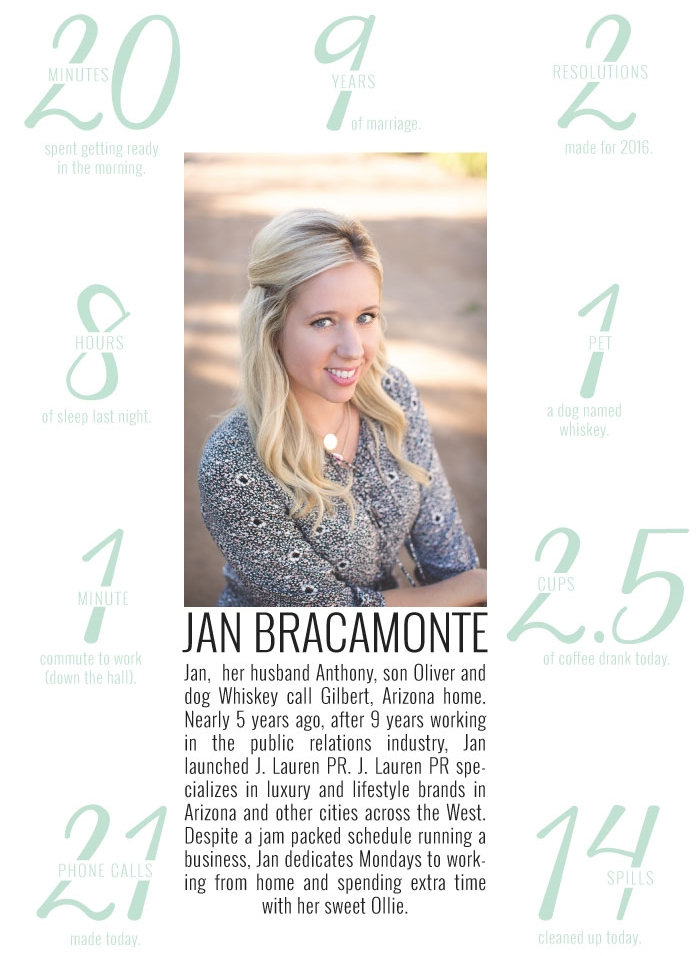 A Day in The Life of Jan Bracamonte of J. Lauren PR | www.MommaSociety.com The community of modern moms