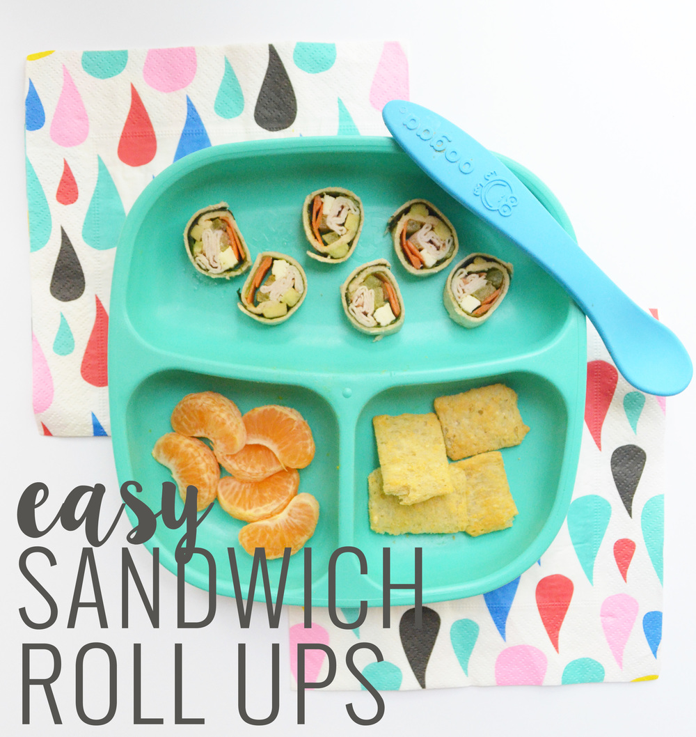 Sandwich Roll Ups For Toddlers | Momma Society-The Community of Modern Moms | www.MommaSociety.com
