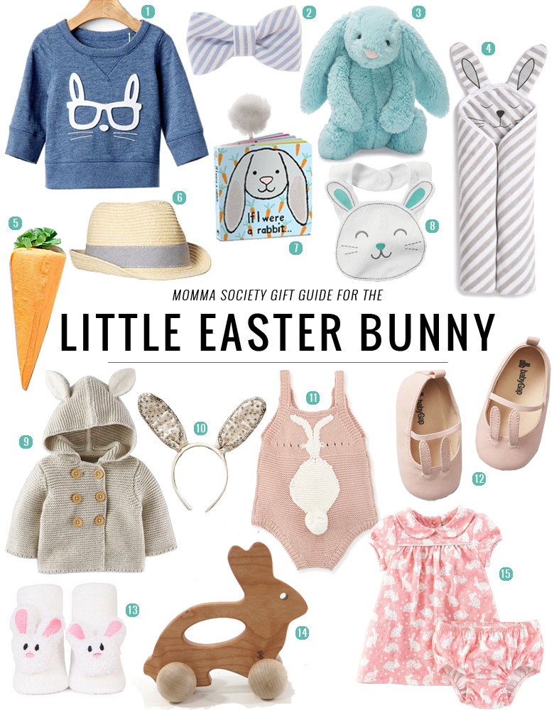 Easter Favorites For Your Little Bunny | Momma Society-The Community of Modern Moms | www.mommasociety.com