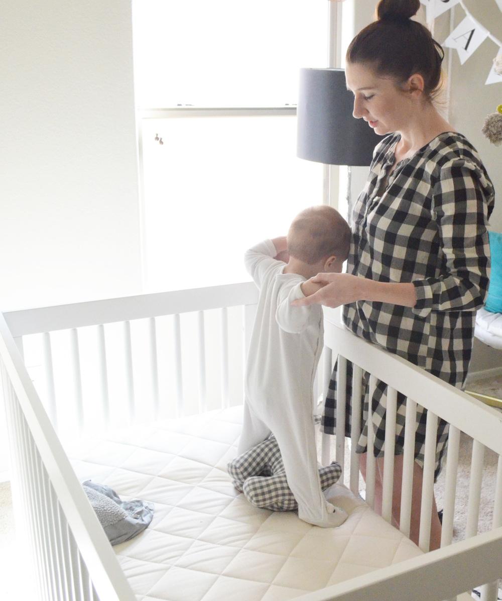 Naturalmat Organic Baby Crib Mattress Review | Momma Society-The Community of Modern Moms | www.mommasociety.com