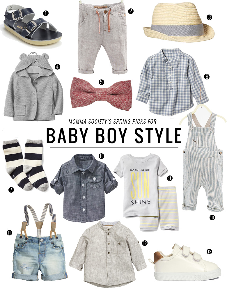 575459760d88 Baby Boy Style Picks for Spring Fashion | Momma Society-The Community of  Modern Moms