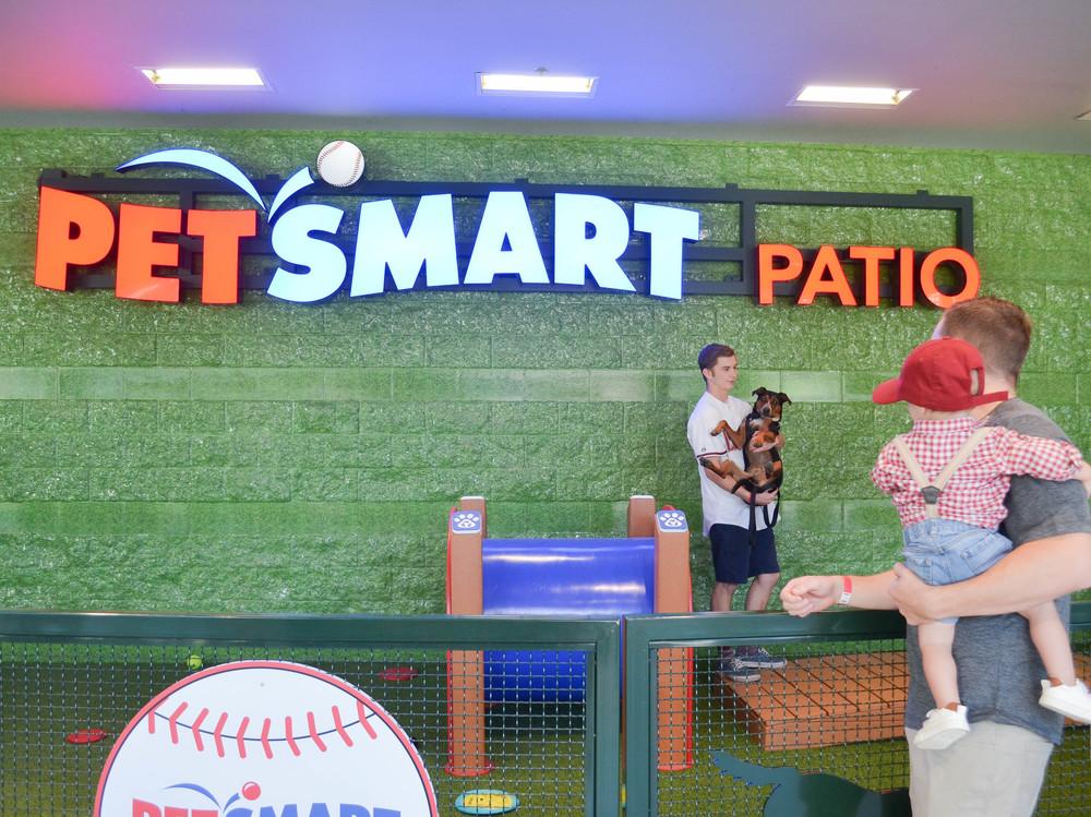 PetSmart Dog Friendly Patio at Chase Field