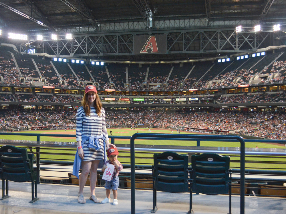 Diamondbacks Baseball Game Style with PetSmart at Chase Field