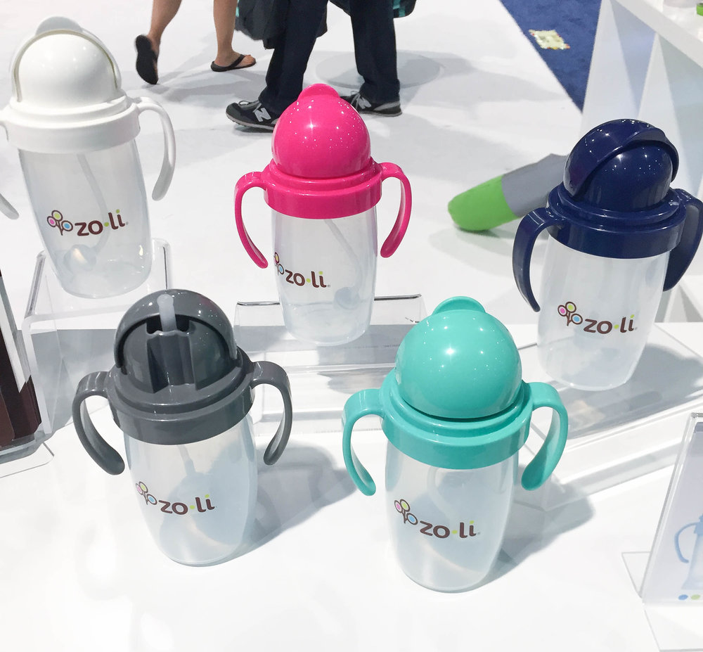 17 Coolest Baby Products You Need to Check Out in 2017 | ZoLi Bot Cups | Baby Gear from ABC Kids Expo