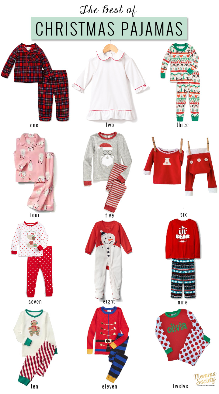 Cute Christmas Pajama for Kids | Family Christmas Pajamas | Holiday Pjs | Christmas Pjs | Momma Society-The Community of Modern Moms
