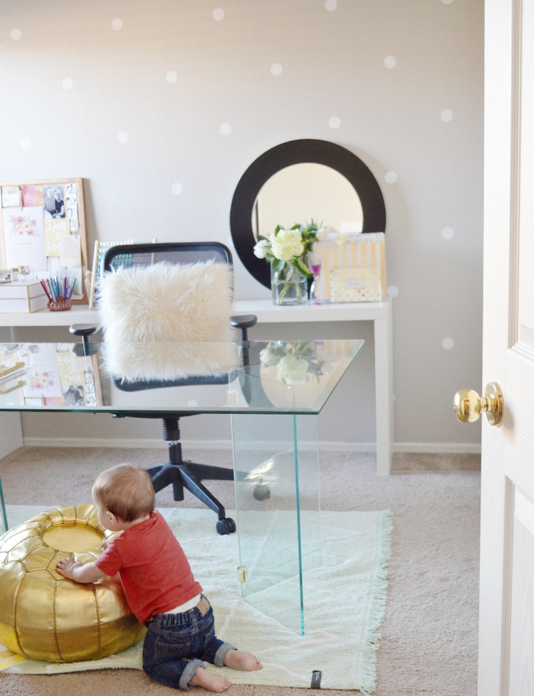 Baby Proofing Home Office Space