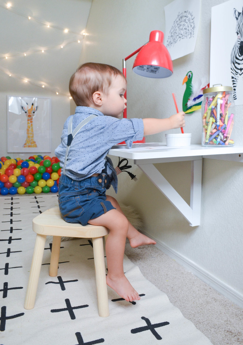 Closet Play Room Rennevation Small Space Design