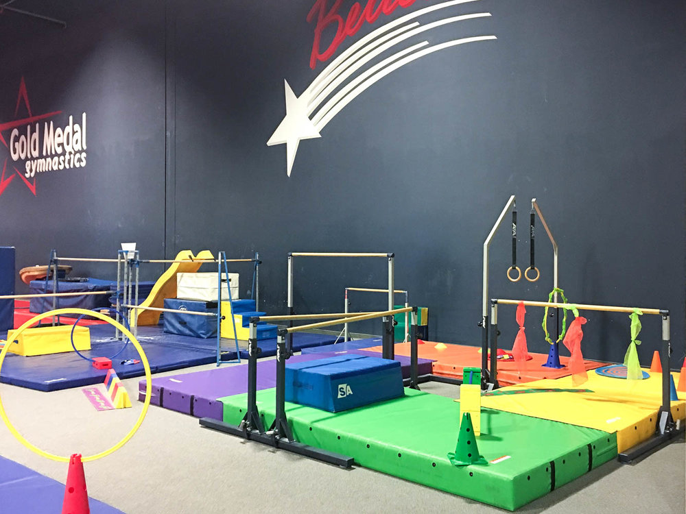 Gymnastics Birthday Party | Gold Medal Gymnastics