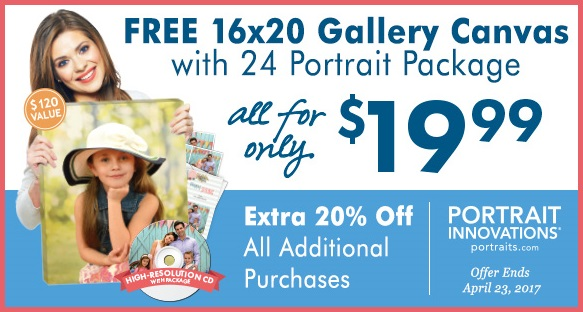 Spring Family Photos with Portrait Innovations