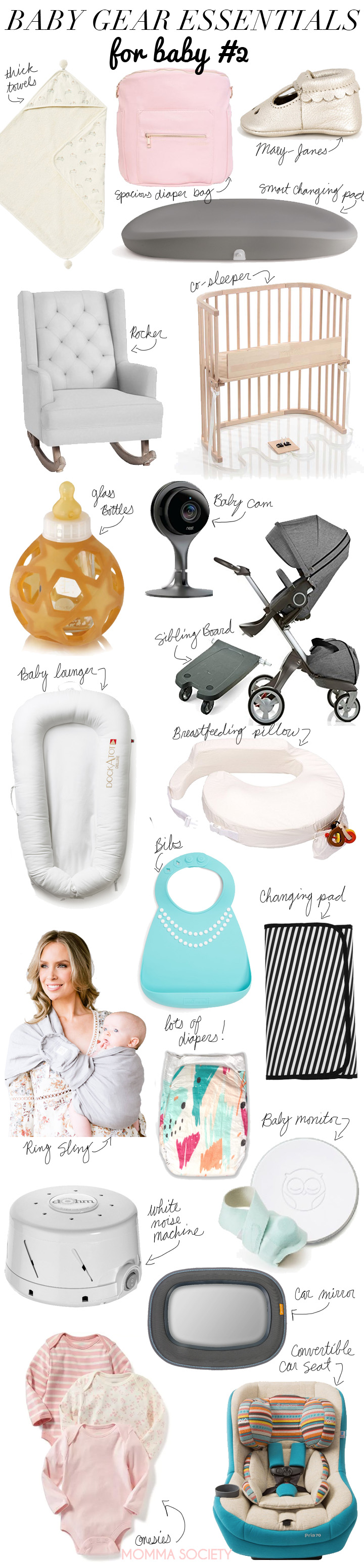 20 Baby Gear Must-Have's For Baby #2 | Baby Essentials | Registry | Baby Registry | Best Baby Gear | Baby Must Haves