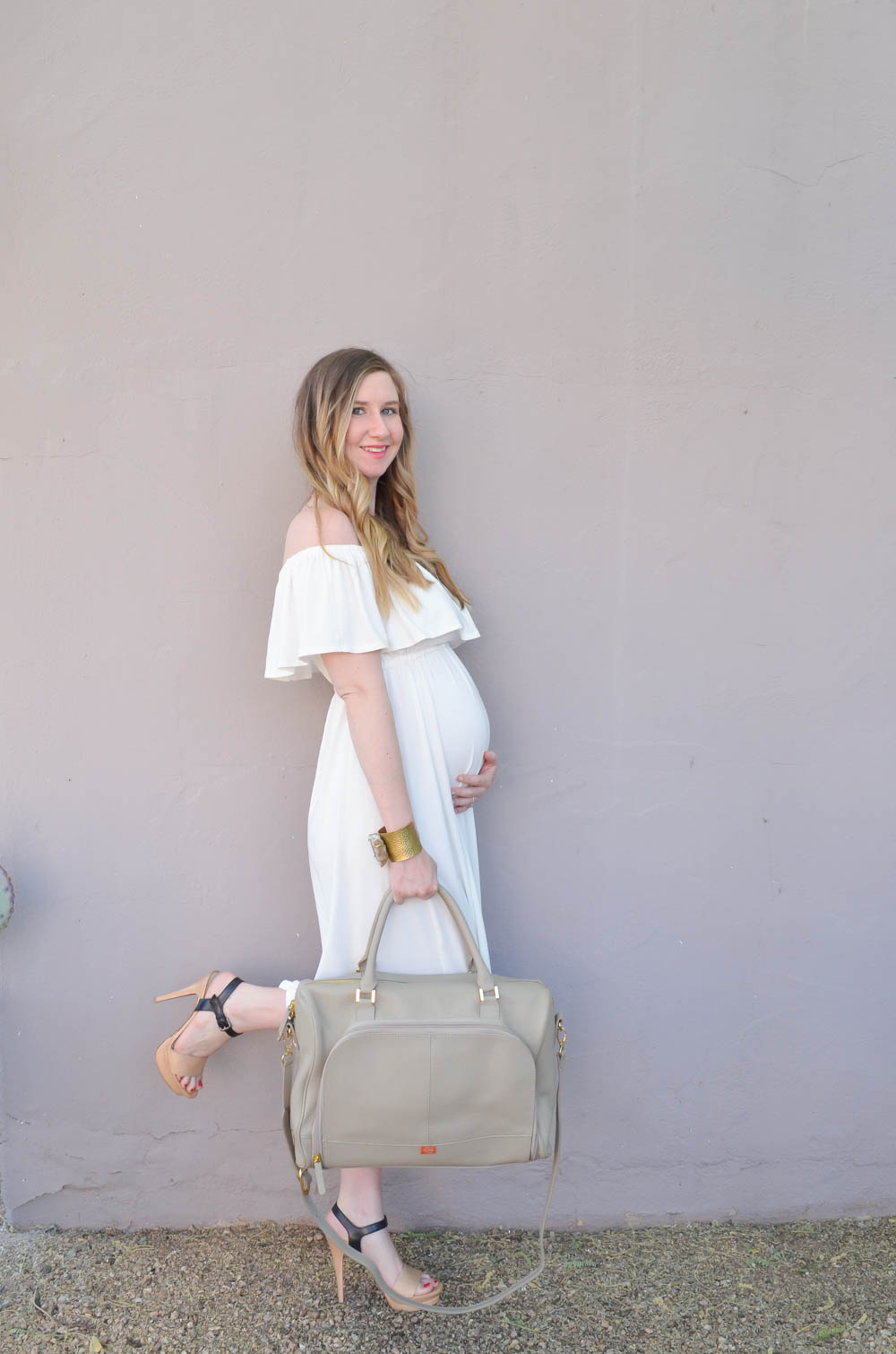 Maternity Dress | Nursing Dress | PacaPod diaper Bag | Maternity Fashion | Maternity Clothes