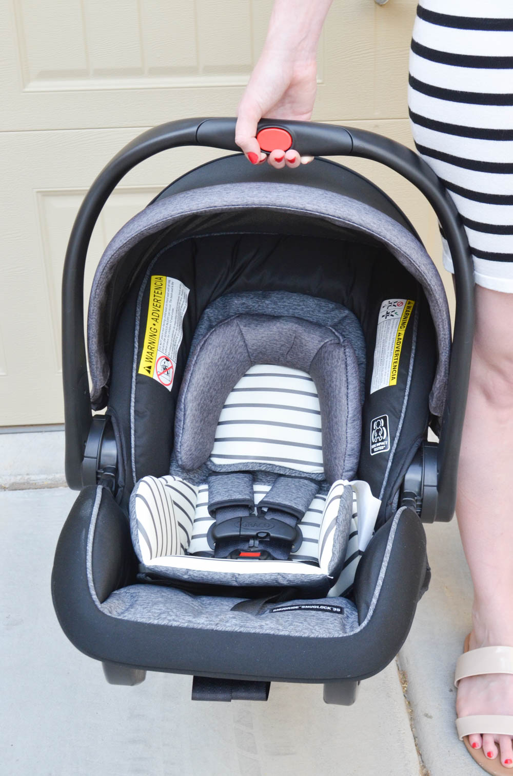 3 Ways We Are Prepping for Baby #2's Arrival | Graco® SnugRide® SnugLock™ 35 DLX Infant Car Seat
