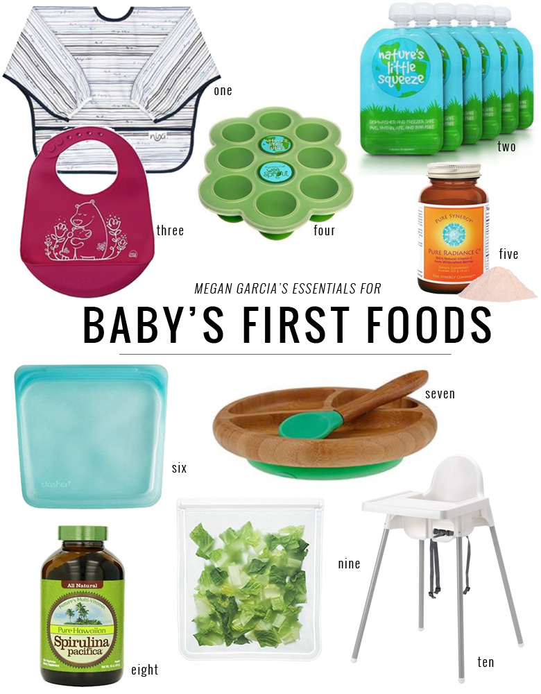 Baby's First Foods Homemad Baby Food Essentials and Recipes