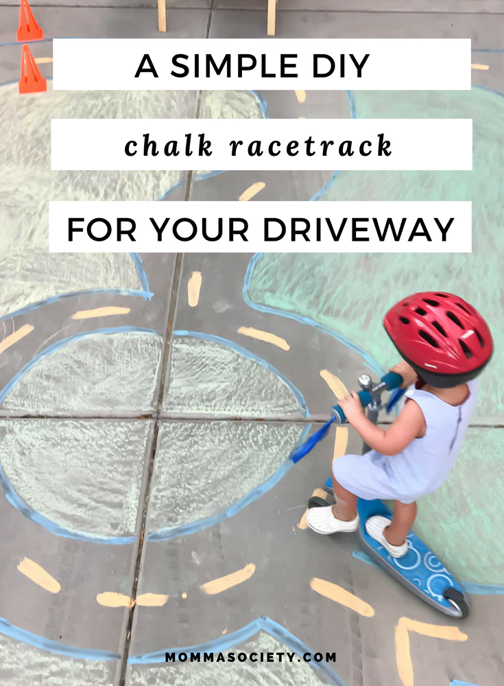 A Driveway Scooter Racetrack + A Radio Flyer Giveaway!