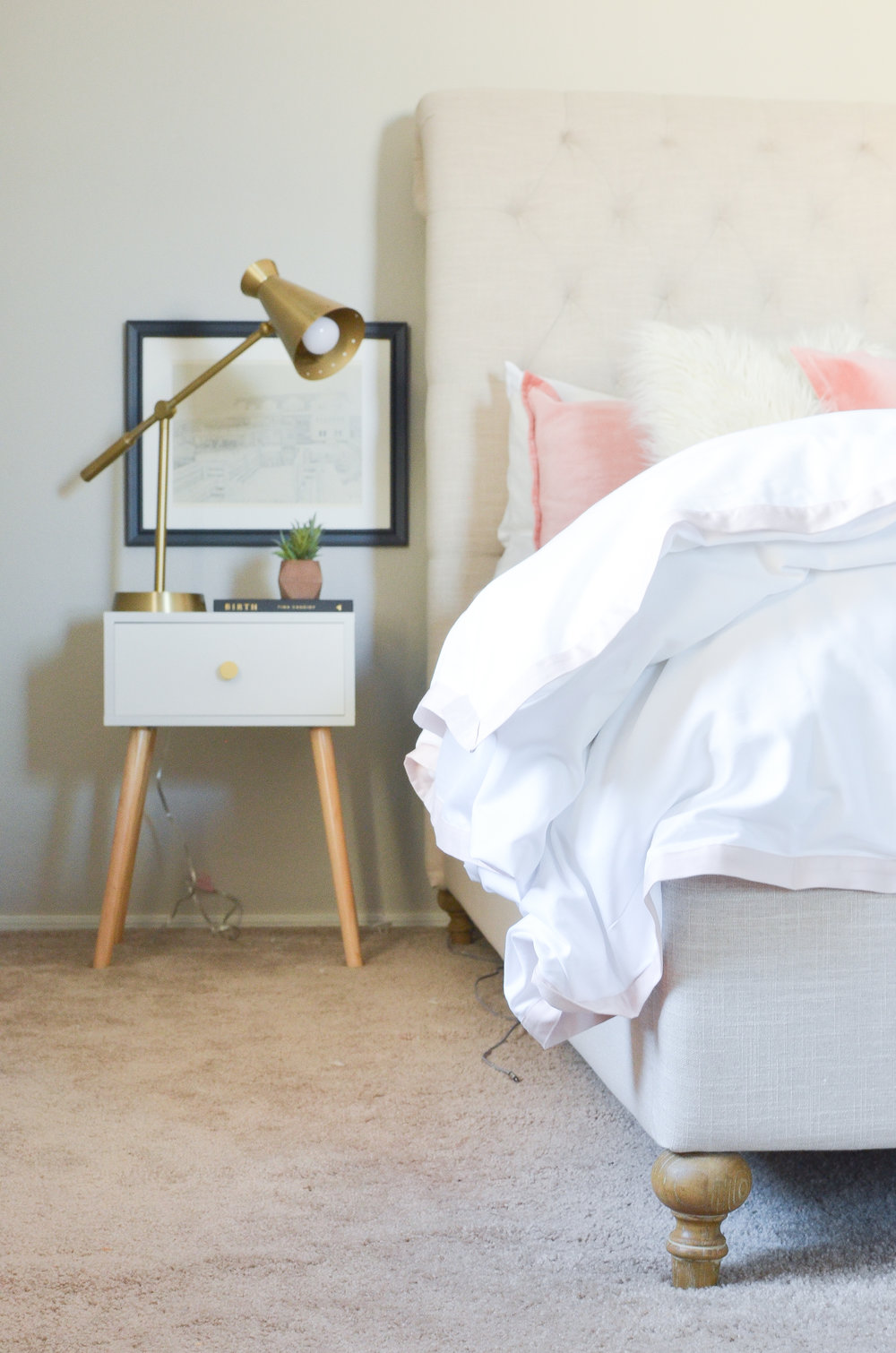 Tips for Creating a Master Bedroom Sanctuary with Serena and Lily | Serena and Lily Duvet Cover