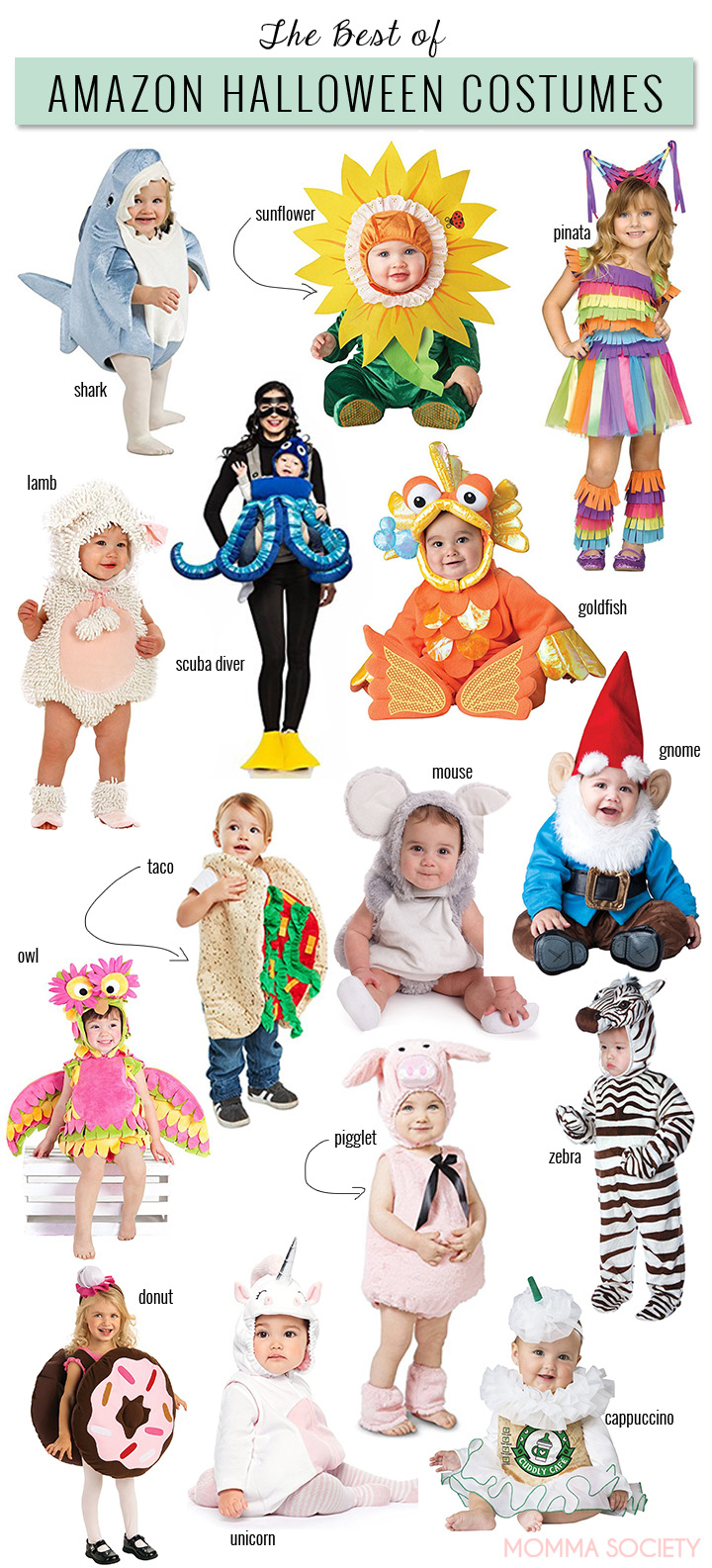 Best Halloween Costumes on Amazon | Toddler u0026 Baby Halloween costumes | Costume Ideas | Halloween  sc 1 st  Momma Society & I Searched 1500 Baby u0026 Toddler Costumes on Amazon u0026 These Are My ...