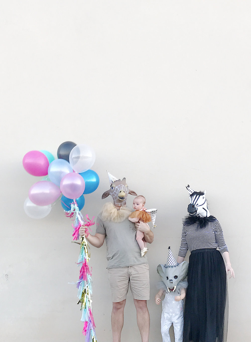 Easy DIY Family Halloween Costume | Party Animals