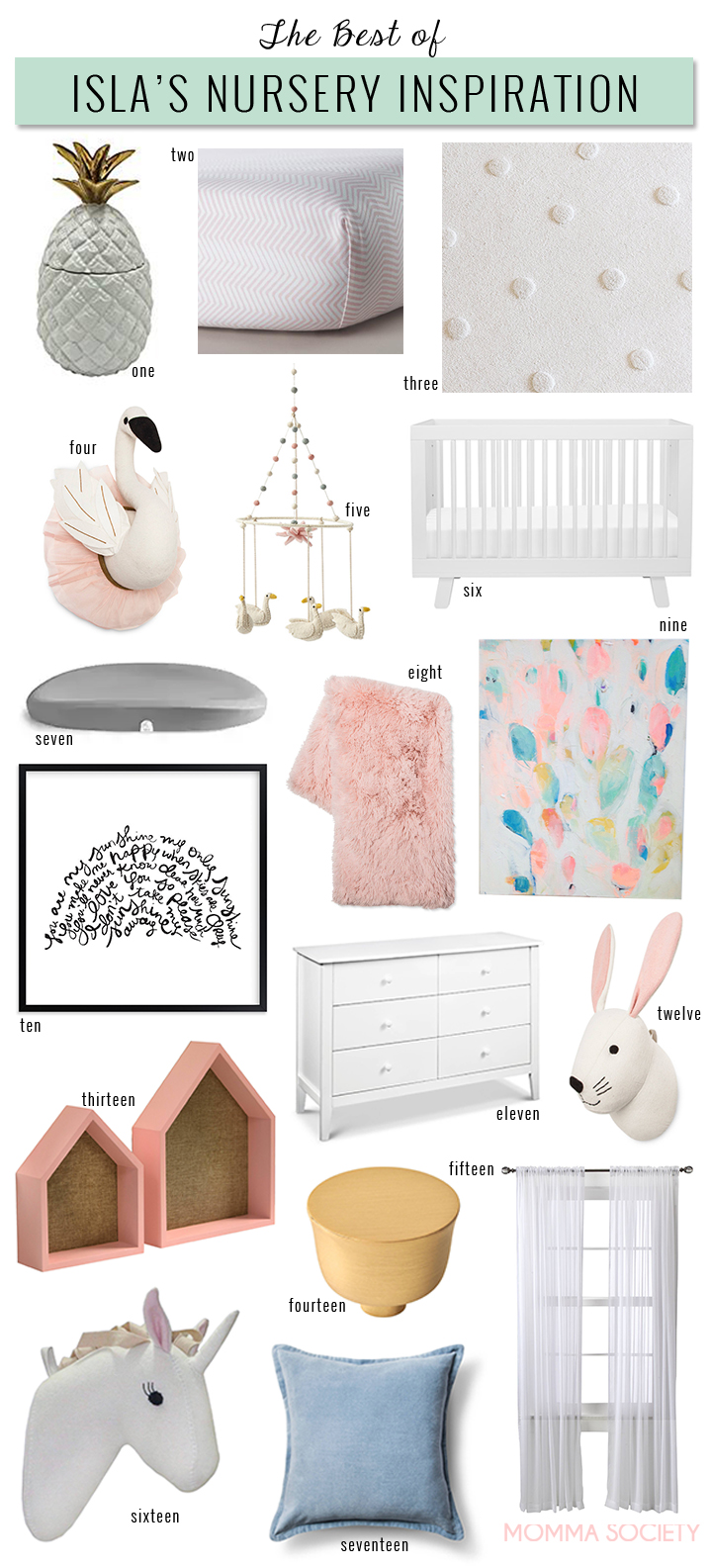 Pink Gold Swan Baby Girl Nursery Ideas Nursery Design