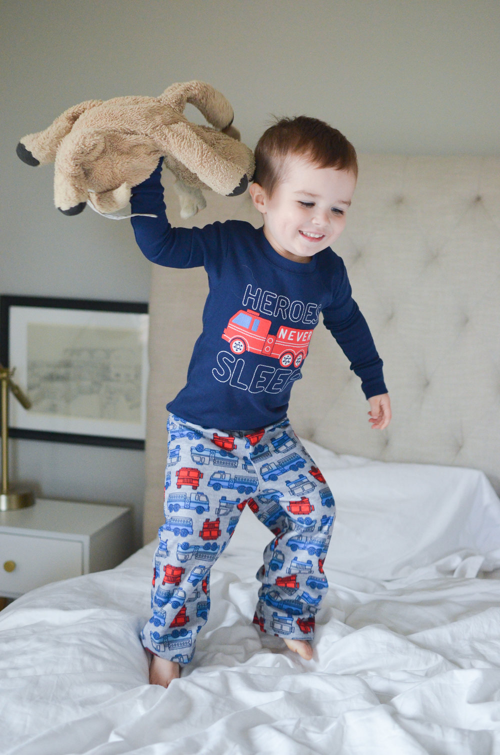 Bedtime Routine Secrets with Two Kids | Simple Joy Carters review pajamas