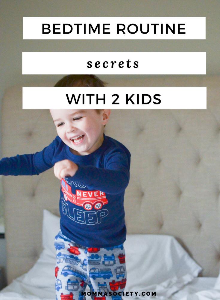 Bedtime Routine Toddler Baby Secrets  Kids