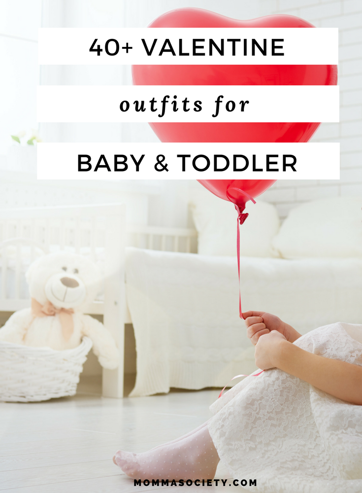 Cute Valentine Outfits and Clothes for Kids and Babies