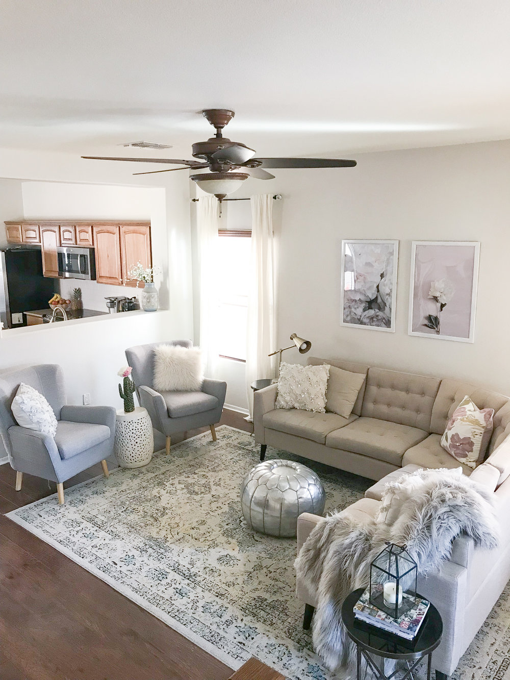 Our Living Room Update---My Happy Place! — Momma Society