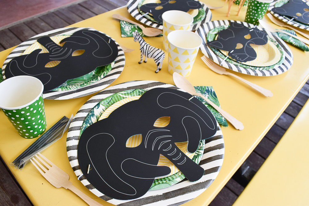 Phoenix Zoo Birthday Party | Zoo Party | Young Wild & Three | Safari Party