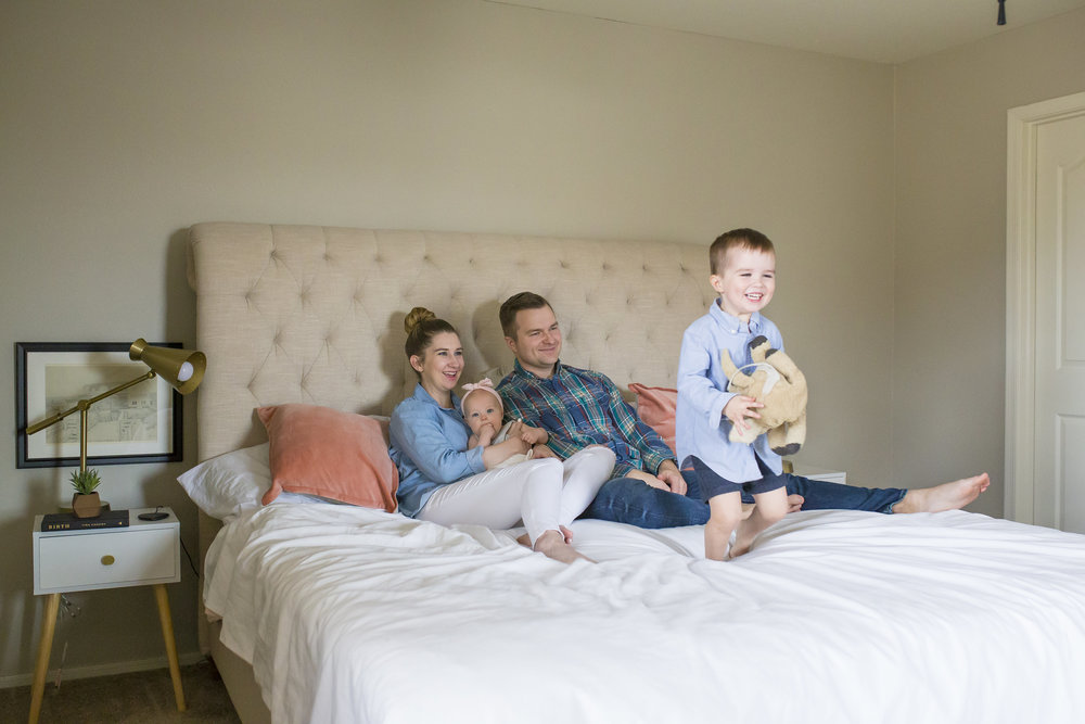 Family Home Lifestyle Photos Bedroom