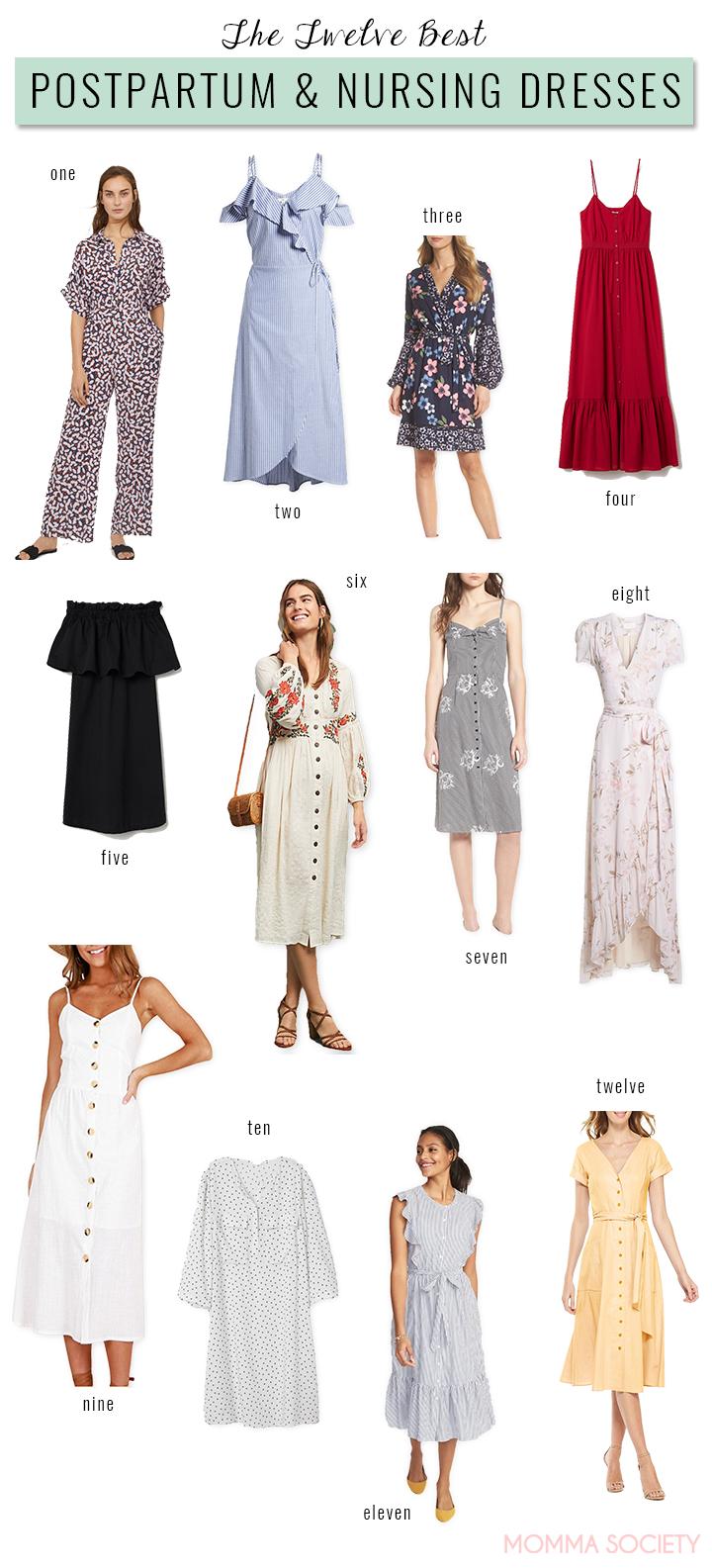 ed79a215de7 The Best Nursing + Postpartum Dresses for the Modern Momma — Momma ...