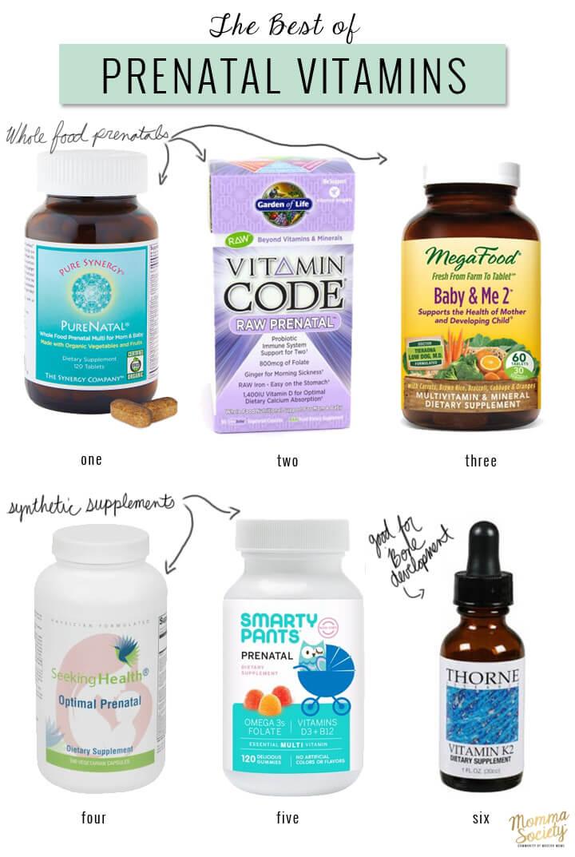 Top Prenatal Vitamins >> 3 Key Nutrients For The Best Prenatal Vitamin Momma Society