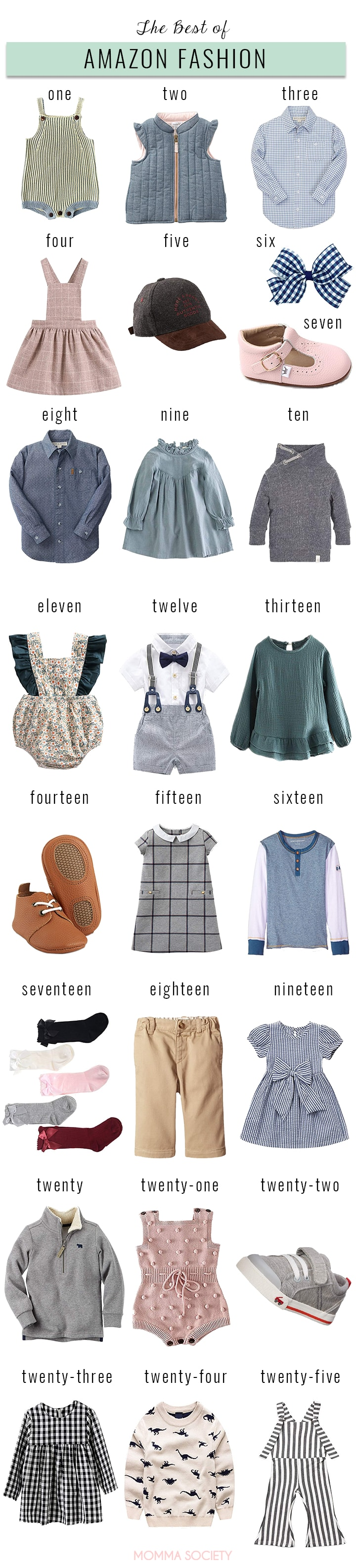 7e71524a8 The Best of Amazon Fashion for Babies + Toddlers — Momma Society
