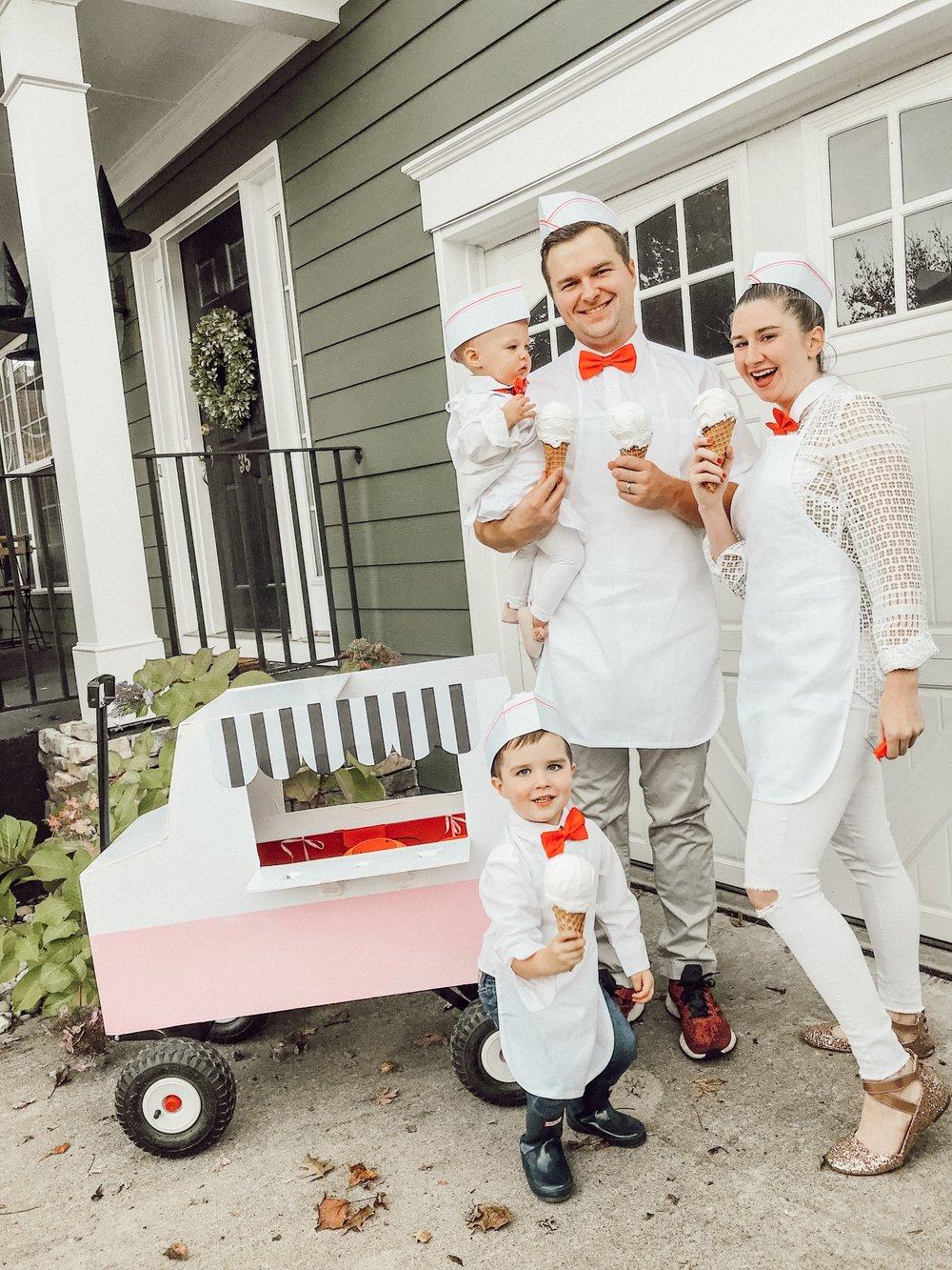 Ice Cream truck family Halloween Costume