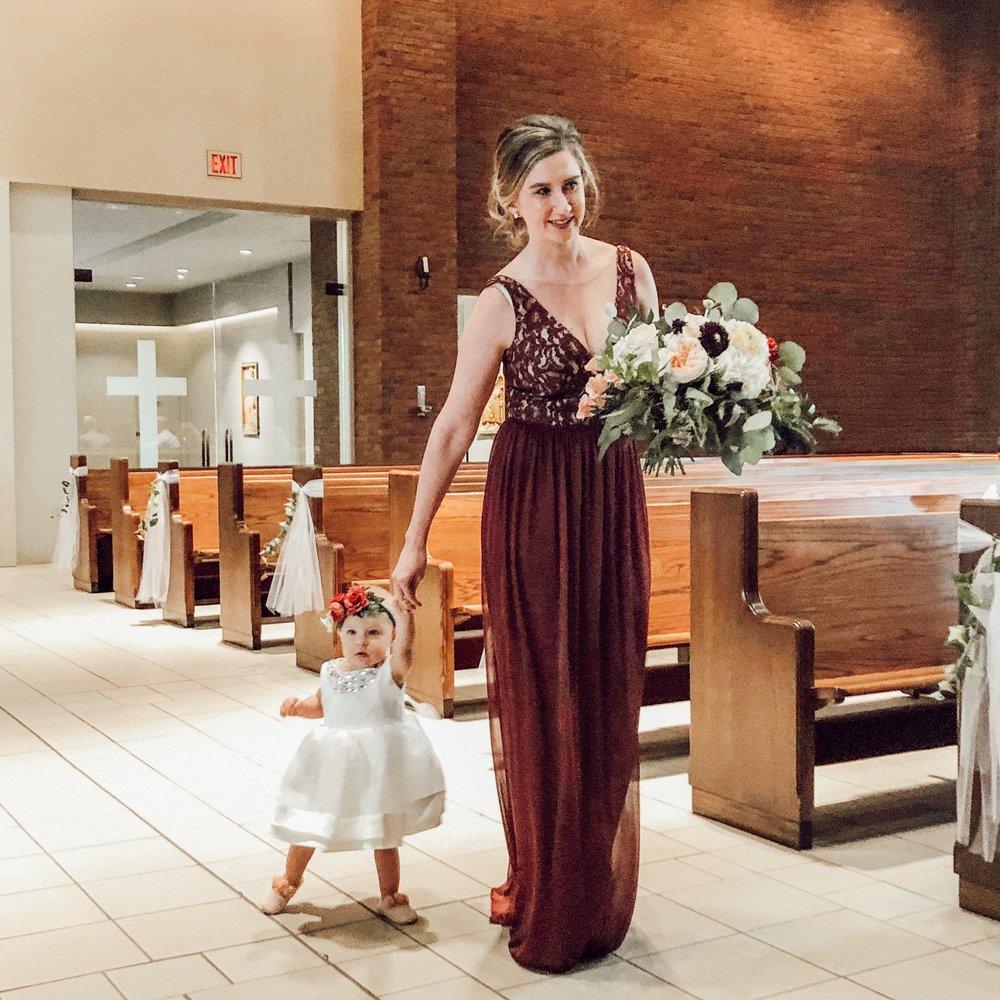 baby wedding stlyle | Motherhood style