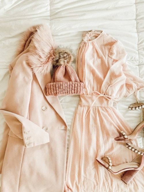 Top Shop Blush Coat - This coat may be what my dreams are made of. Be ready to see it all the time this winter because it's definitely going to be a closet staple!