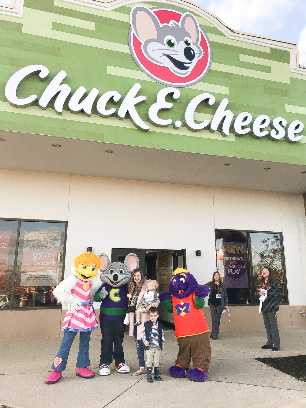 Chuck E Cheese's Greenville Renovation