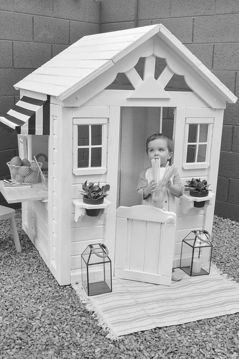 From Drab to Fab: A Playhouse Renovation You've Got To See -