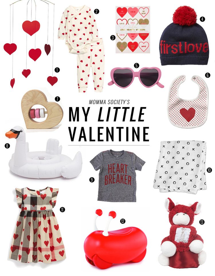 Valentine S Day Gifts For Babies Toddlers Momma Society