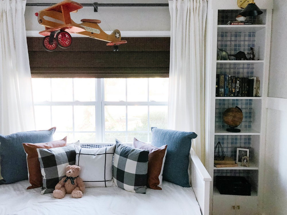 style tips for little boys room | childproof friendly blinds