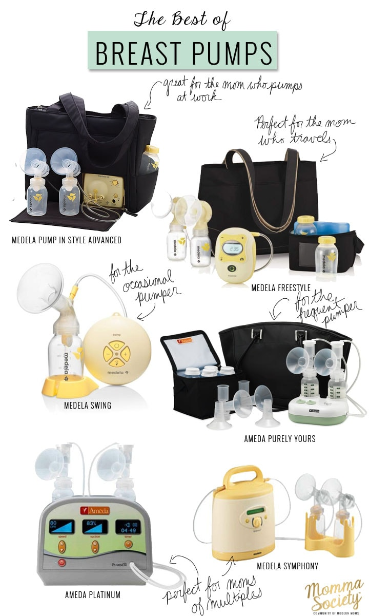 Choosing The Perfect Breast Pump Momma Society