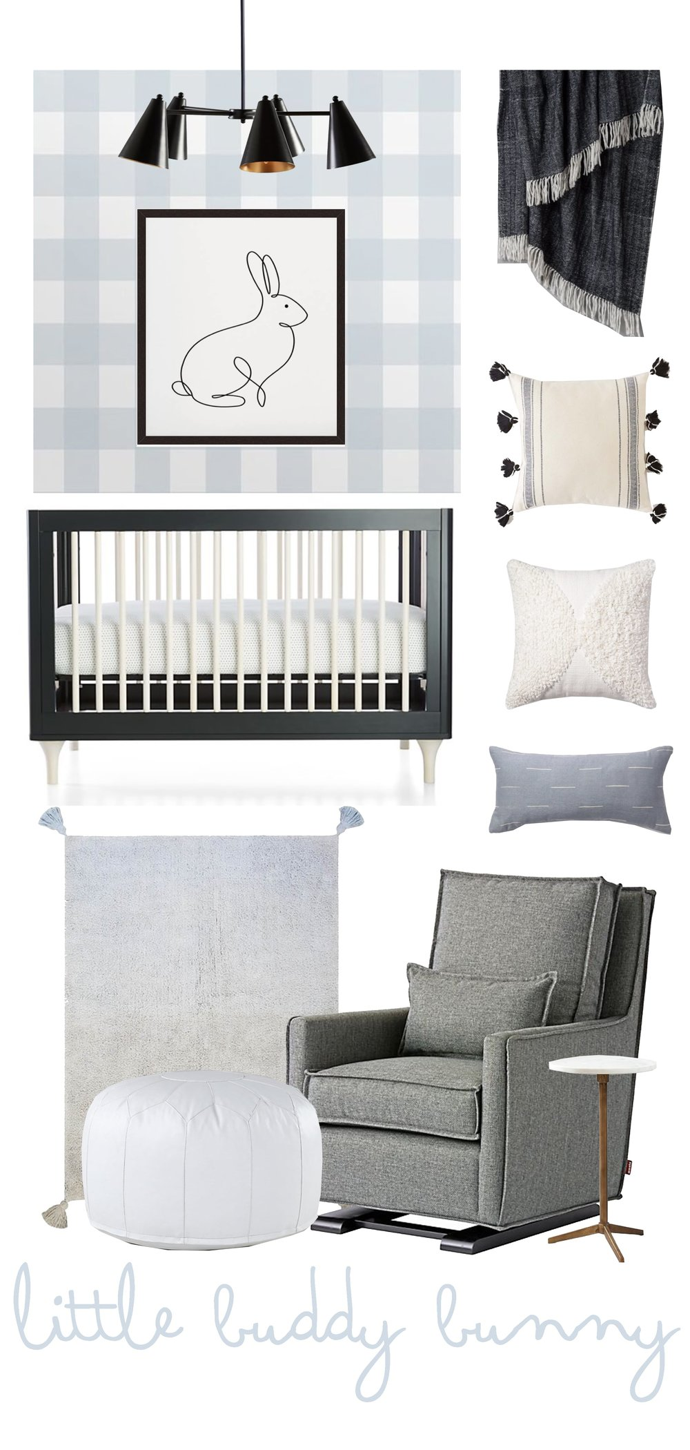 Bunny Inspired Nursery for Boys