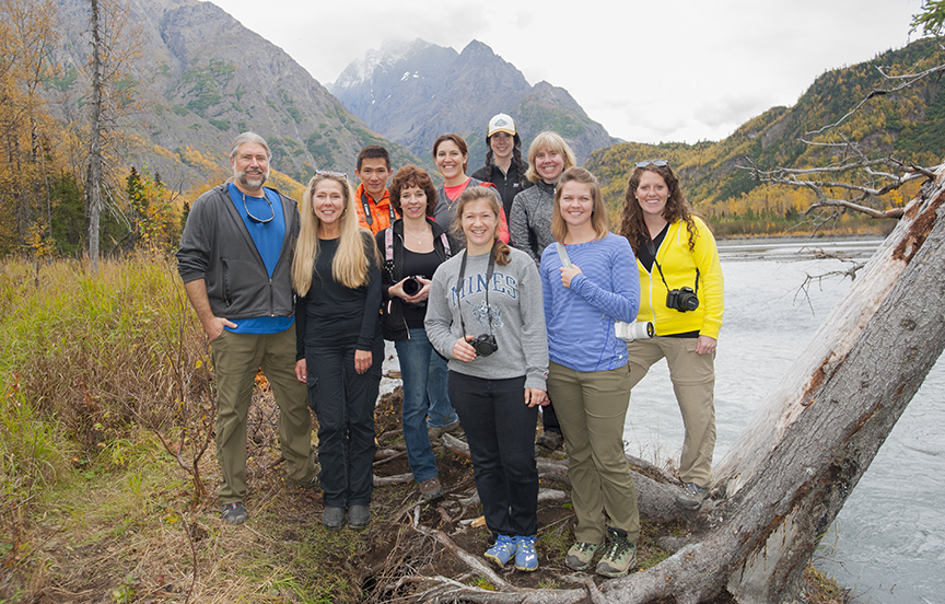 Fall Photography Class, Eagle River Nature Center, September 17, 2016